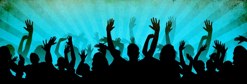 Worship Concert Hands Website Banner